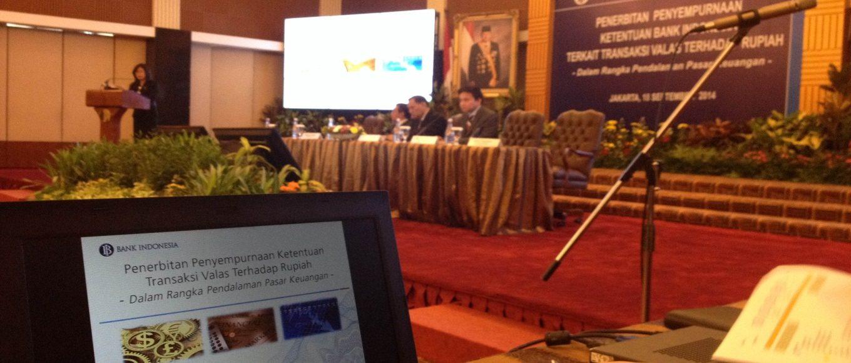 Penerbitan Penyempurnaan Ketentuan Transaksi Valas terhadap Rupiah