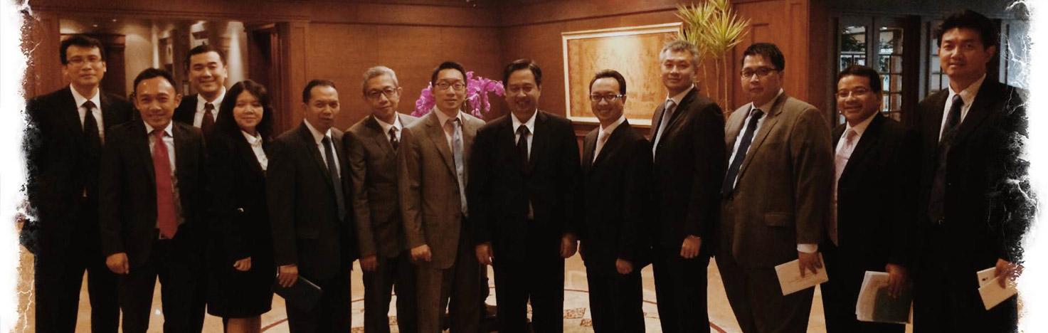 Pertemuan Anggota IFEMC dengan Gubernur Bank Indonesia