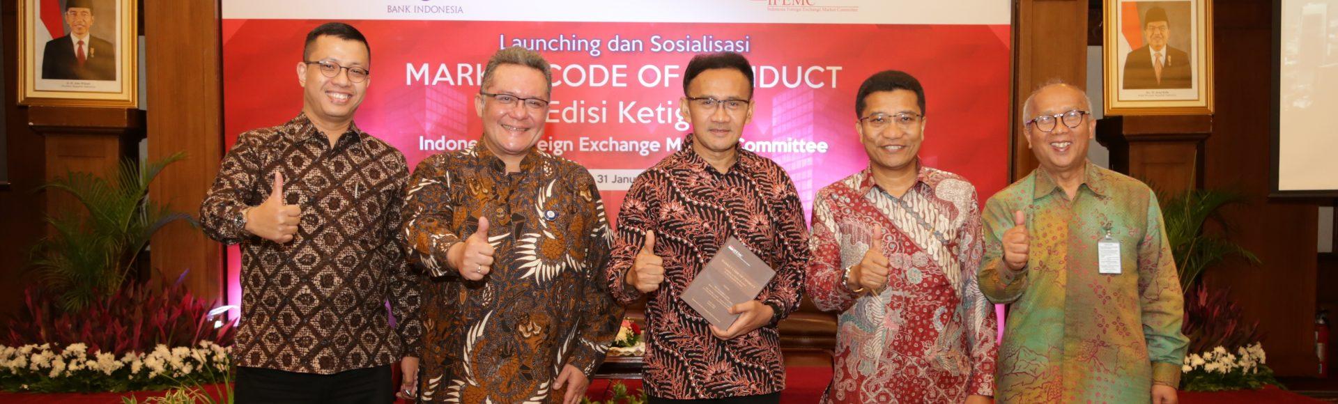 Peluncuran dan Sosialisasi Buku Market Code of Conduct (MCoC) Edisi Ketiga