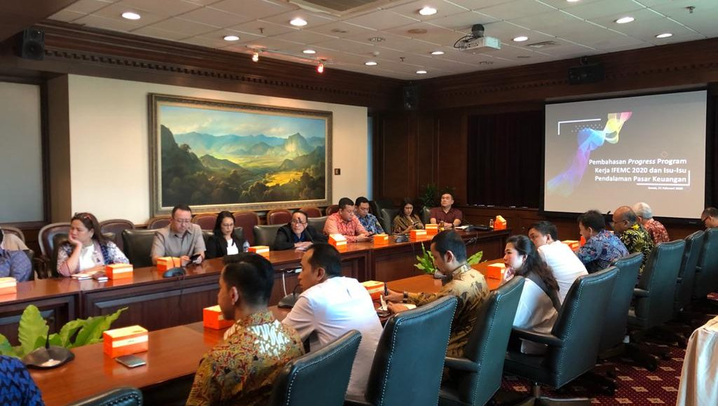 Rapat Program Kerja Indonesia Foreign Exchange Market Committee (IFEMC), Februari 2020